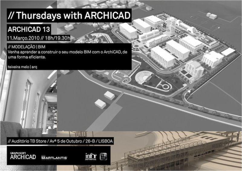 Workshops de ArchiCAD gratuitos