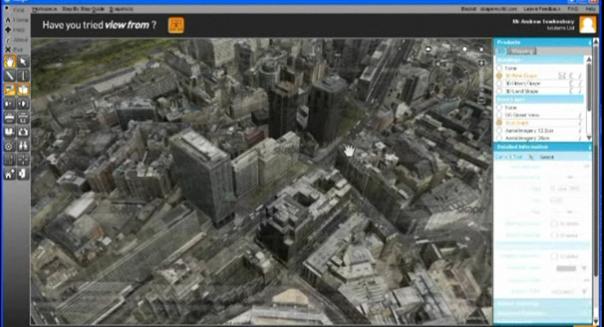 Skape – Visualização Urbana Tridimensional em tempo real