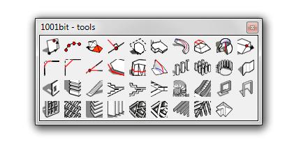 Plugin Sketchup: 1001Bit Tools – Ferramentas de Modelação Arquitectónica