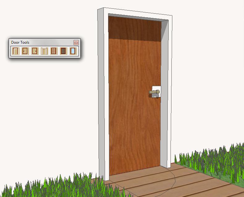 Plugin Sketchup Door Tools Modelar Portas Em Apenas 3