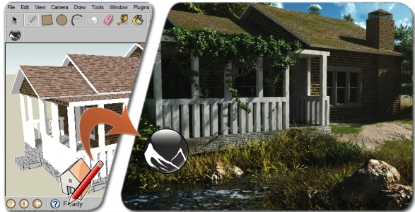 Plugin Sketchup: Exportador de Sketchup para Vue