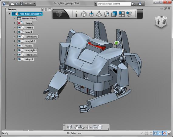 Autodesk 123D – Criação e Fabricação de Objetos Tridimensionais