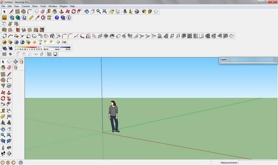 Dica SketchUp: Restaurar a barra de ferramentas