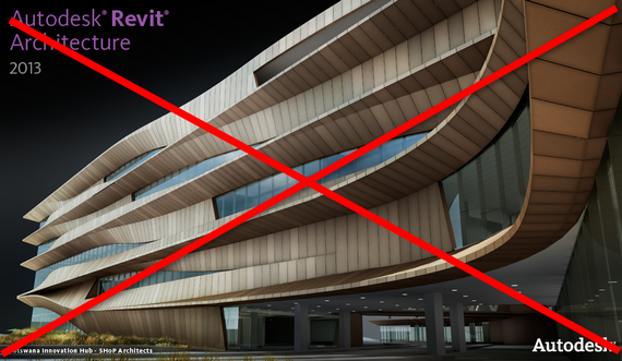 Dica – Desligue a tela inicial do Revit e do AutoCAD