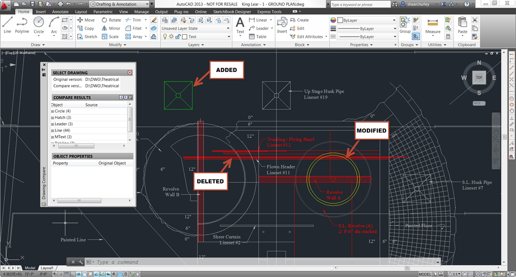 autocad differences